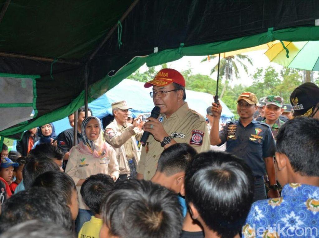 Korban Gempa Lebak Banten di Sukabumi Terserang Diare