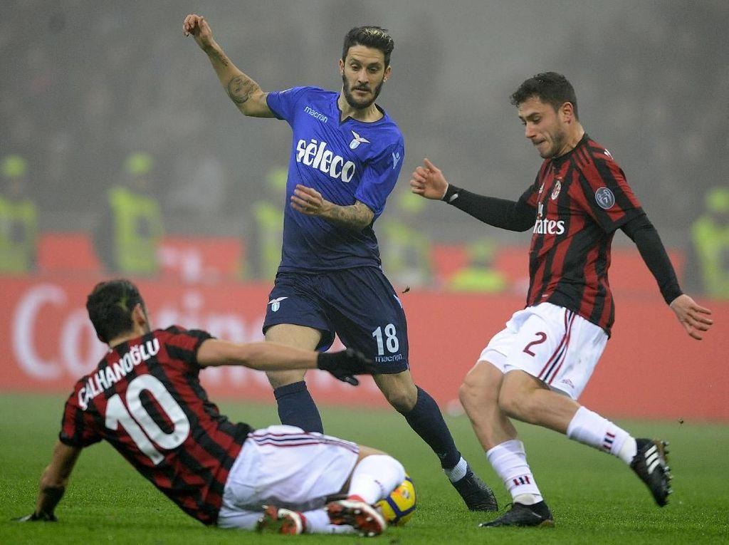 10 Data dan Fakta Jelang Laga Lazio Vs AC Milan