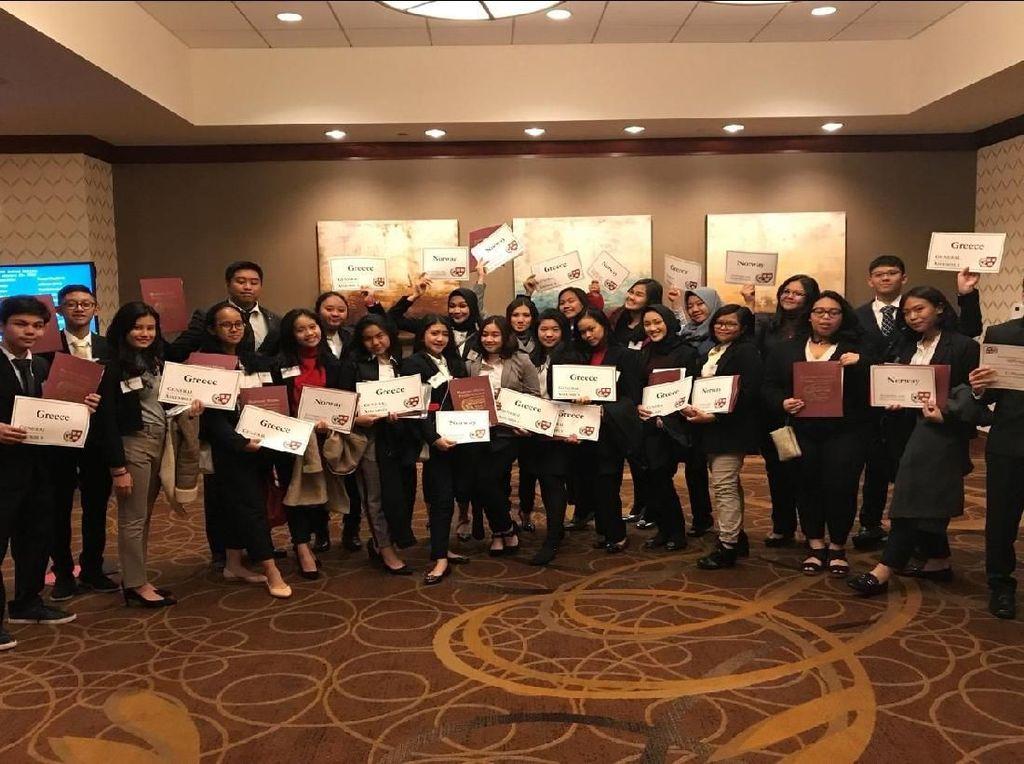 SMA Labschool Jakarta Jadi Wakil ASEAN di Harvard Model UN