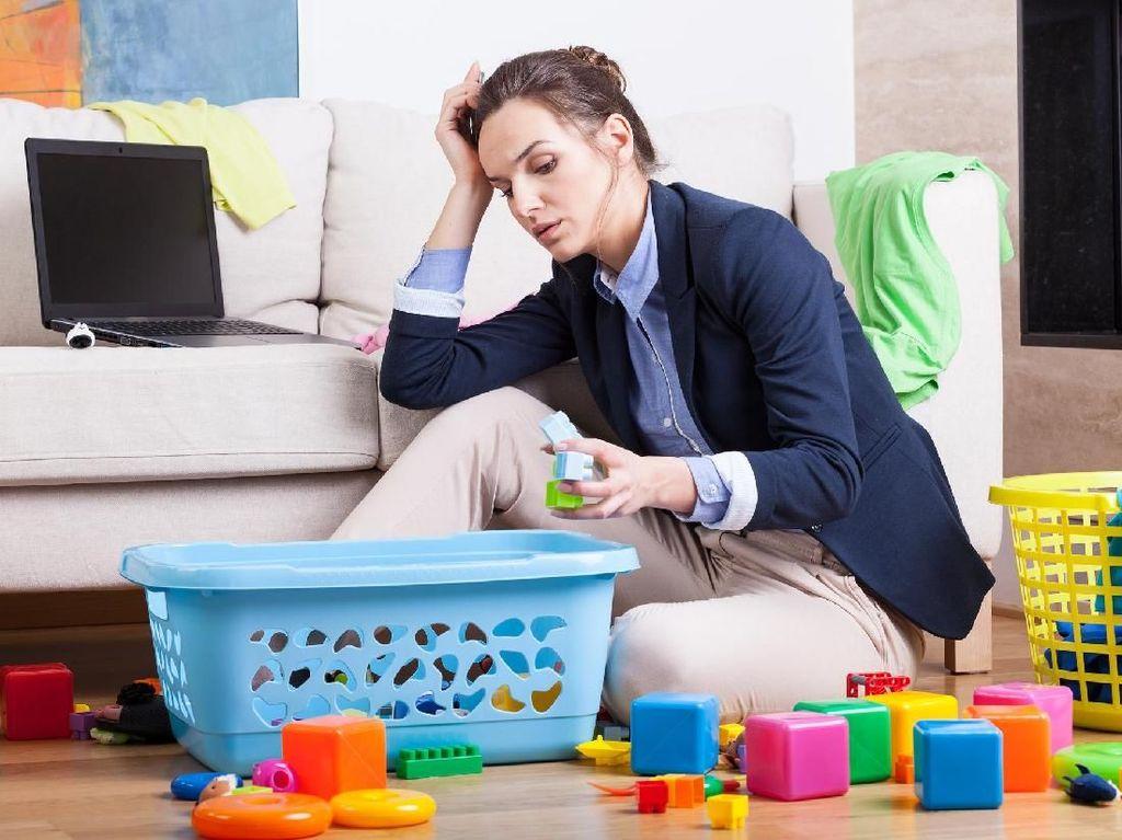 Saat Kerjaan Rumah Nggak Ada Habisnya, Gimana Biar Nggak Stres?