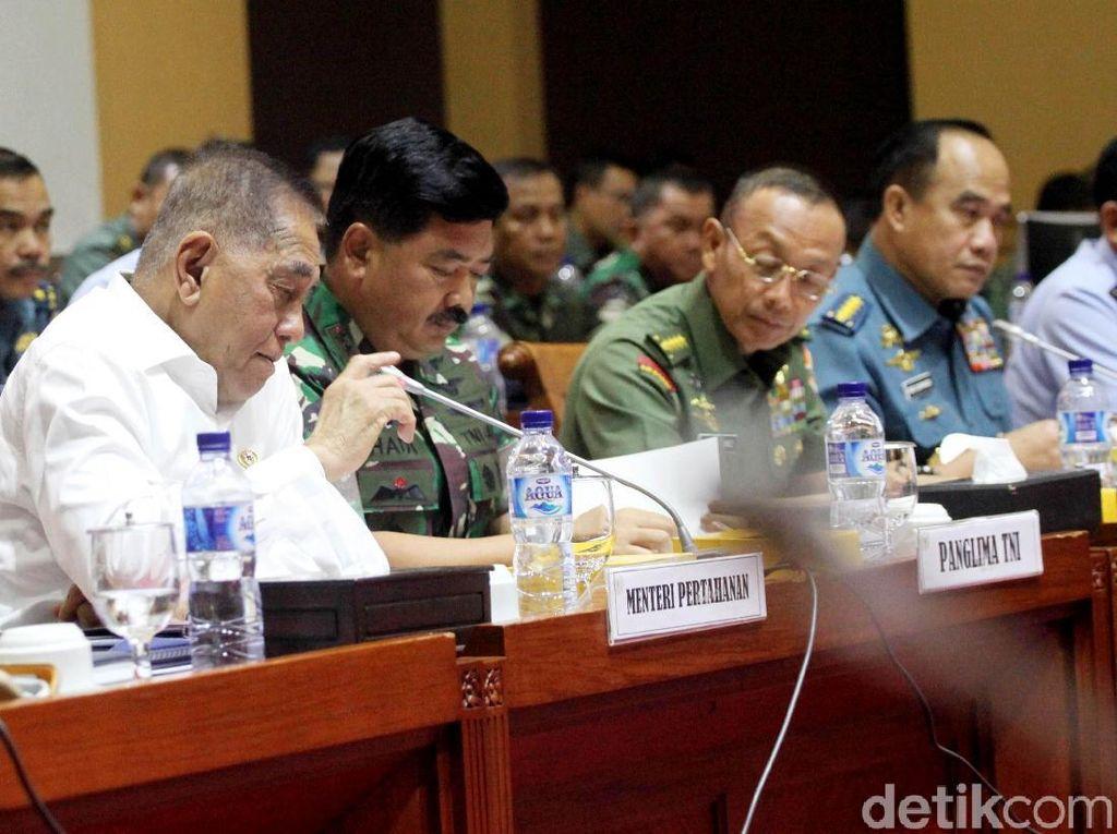 Rapat Bareng Panglima, Komisi I Singgung Penyanderaan WNI