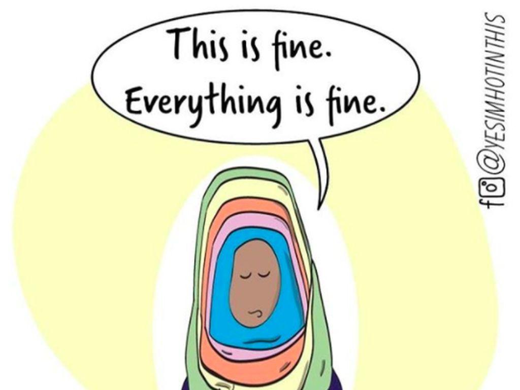 Deretan Komik Hijab Ini Mewakili Perasaan Hijabers di Amerika