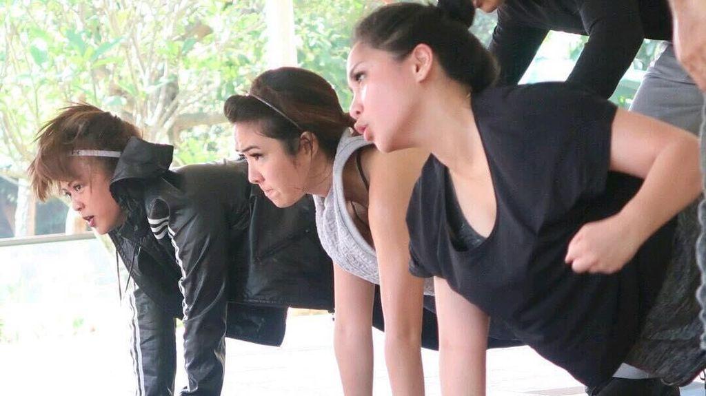 Nagita Sampai Angel Karamoy, Olahraganya Para Mahmud Cantik Indonesia
