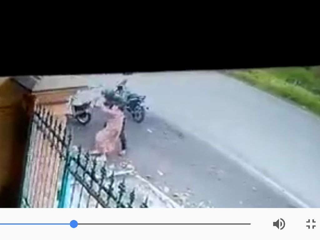 Polisi Kantungi Ciri Penjambret Nenek di Malang yang Terekam CCTV
