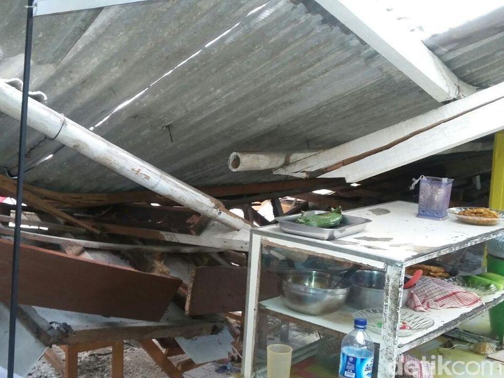 Atap Kantin SMKN 3 Tangerang Roboh, 5 Siswa Luka Ringan