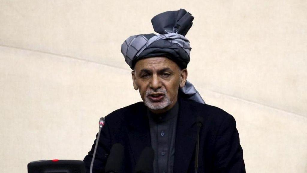 Sosok Ashraf Ghani, Presiden Afghanistan yang Sambut hangat Jokowi