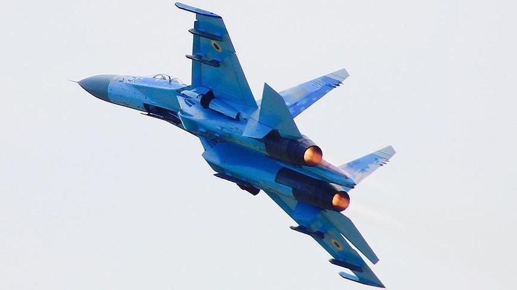 Jet Tempur Rusia Cegat Pesawat Pengintai AS di Atas Laut Hitam