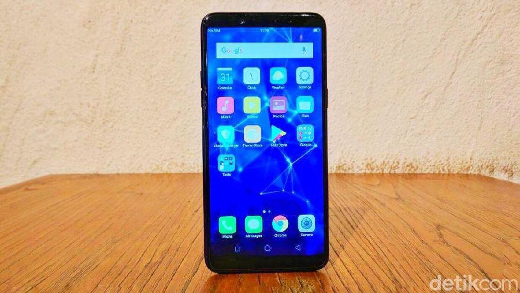 Penampakan Oppo F5 Kelir Biru yang Menggoda