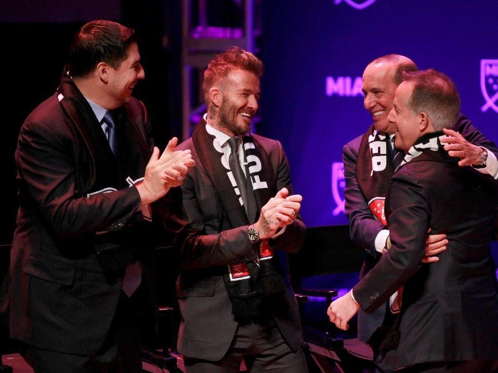 David Beckham Luncurkan Klubnya di Miami