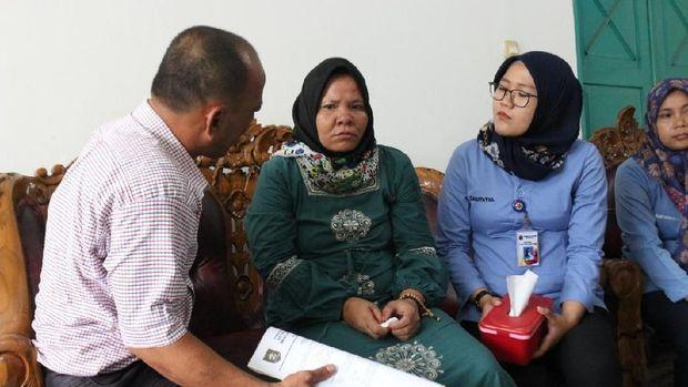 Juwita sempat tersesat di Jakarta dan hilang kontak dengan keluarga