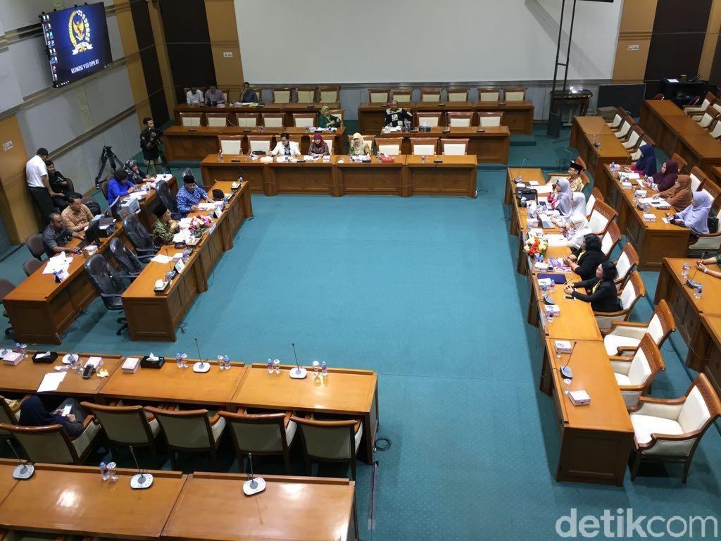 Komisi VIII Rapat RUU PKS dengan Ormas, Ini yang Dibahas