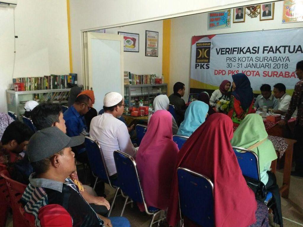 Verfak Parpol, KPU Surabaya Beri Waktu Hingga Besok