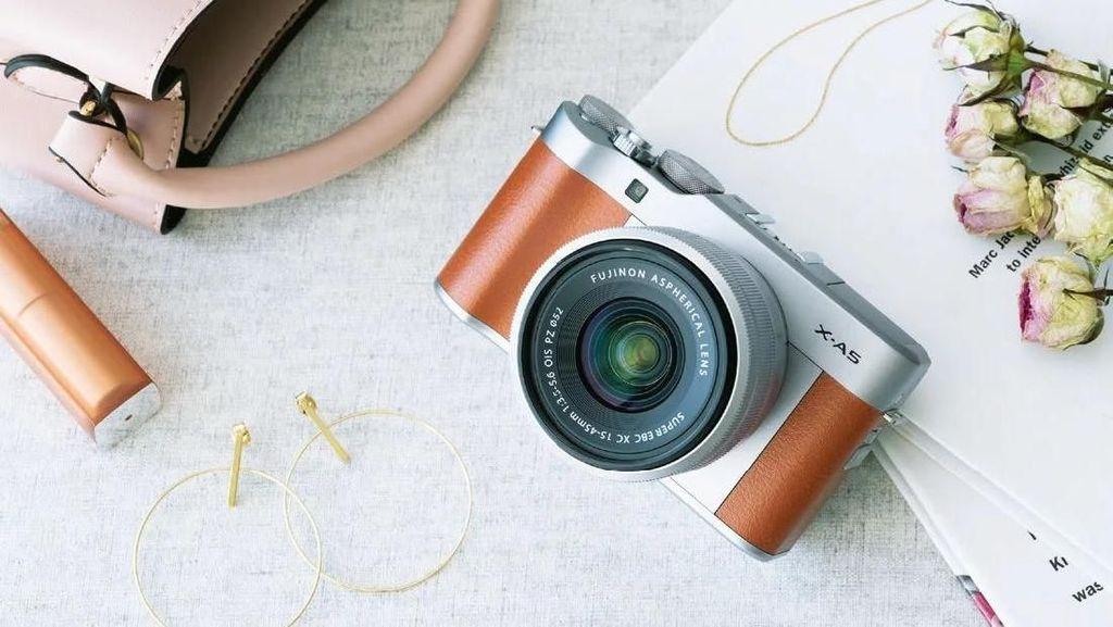 Penampakan Fujifilm X-A5, Kamera Mirrorless Ramah Kantong