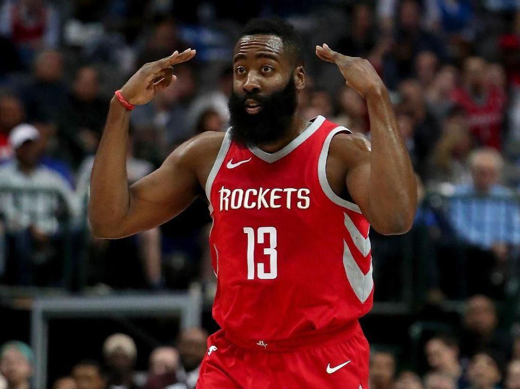 Harden Cetak Triple-double 60 Poin Pertama di NBA