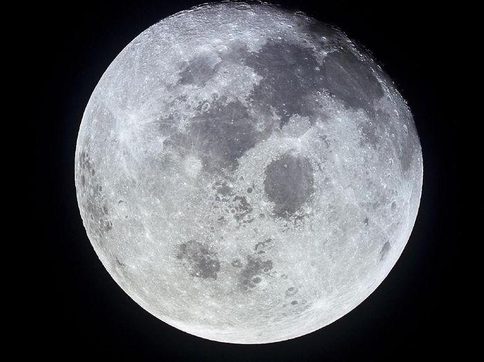 Bulan. Foto: NASA