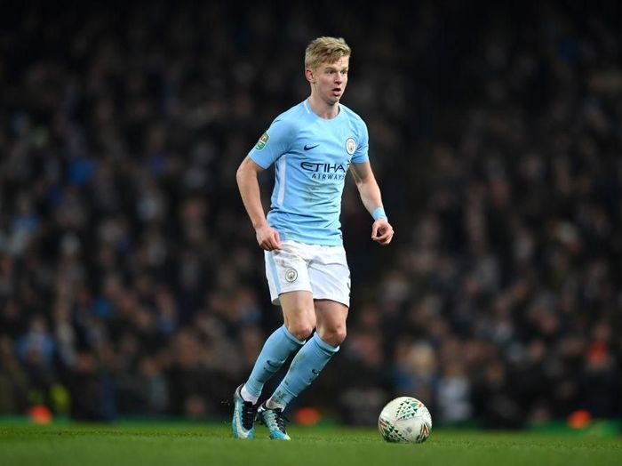 Pemain Manchester City, Oleksandr Zinchenko. (Foto: Gareth Copley/Getty Images)
