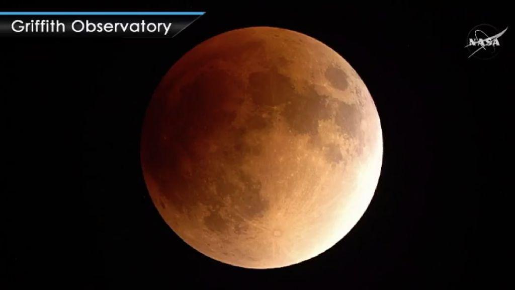 Blood Moon! Potret Bulan Kemerahan Hasil Pantauan NASA