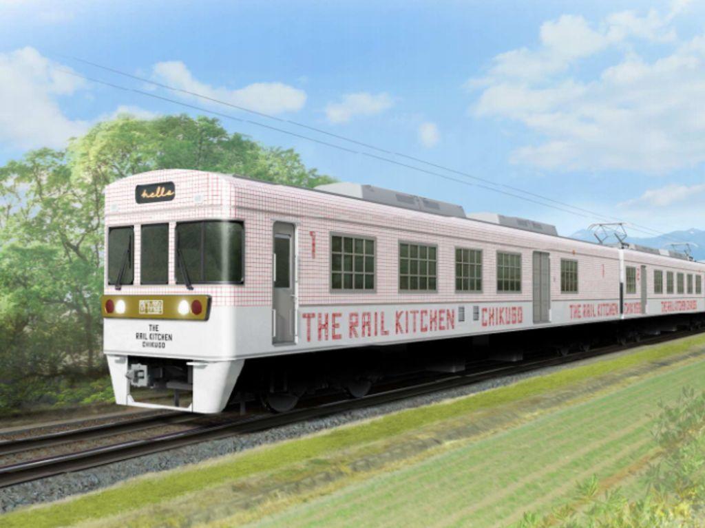 Wih! Di Jepang Segera Hadir Kafe Kereta Bernilai Historis