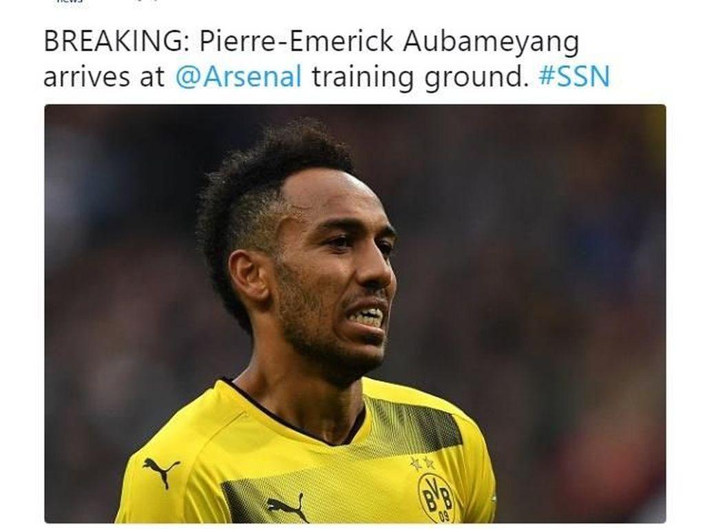 Meme Aubameyang dan Mkhitaryan Menyesal Gabung Arsenal