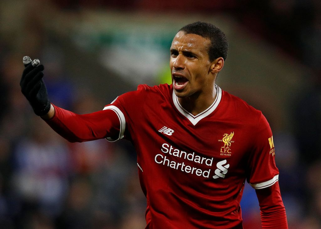 Soccer Football - Premier League - Huddersfield Town vs Liverpool - John Smith's Stadium, Huddersfield, Britain - January 30, 2018   Liverpool's Joel Matip reacts                 REUTERS/Phil Noble    EDITORIAL USE ONLY. No use with unauthorized audio, video, data, fixture lists, club/league logos or