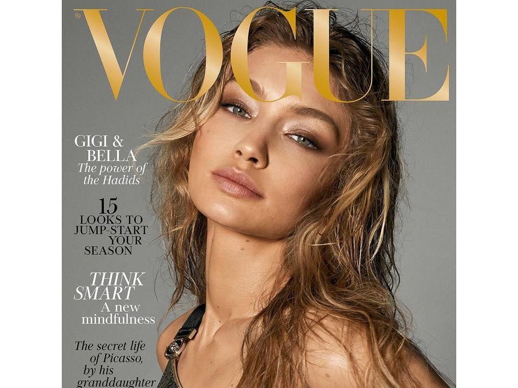 Foto Gigi dan Bella Hadid Tanpa Busana untuk Vogue Jadi Kontroversi
