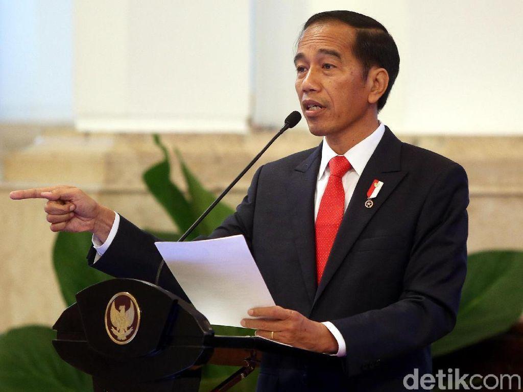 Jokowi Minta Daftar Barang Impor Terlarang Terus Dikurangi