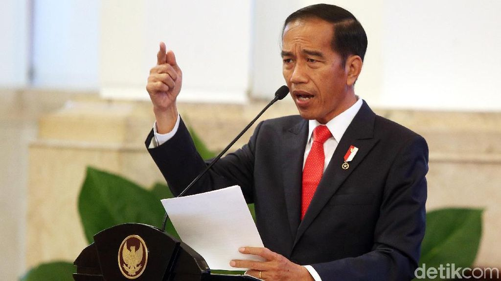 Foto: Jokowi Buka Raker Kemendag
