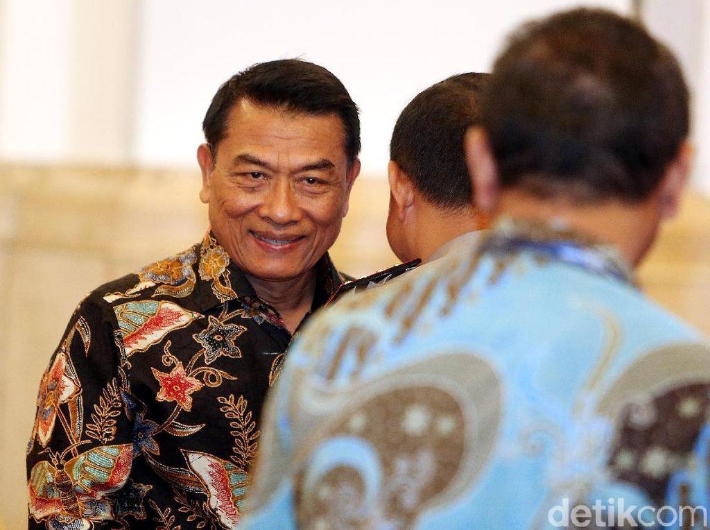 Moeldoko: Paspampres Mengamankan Tanpa Jokowi Tahu