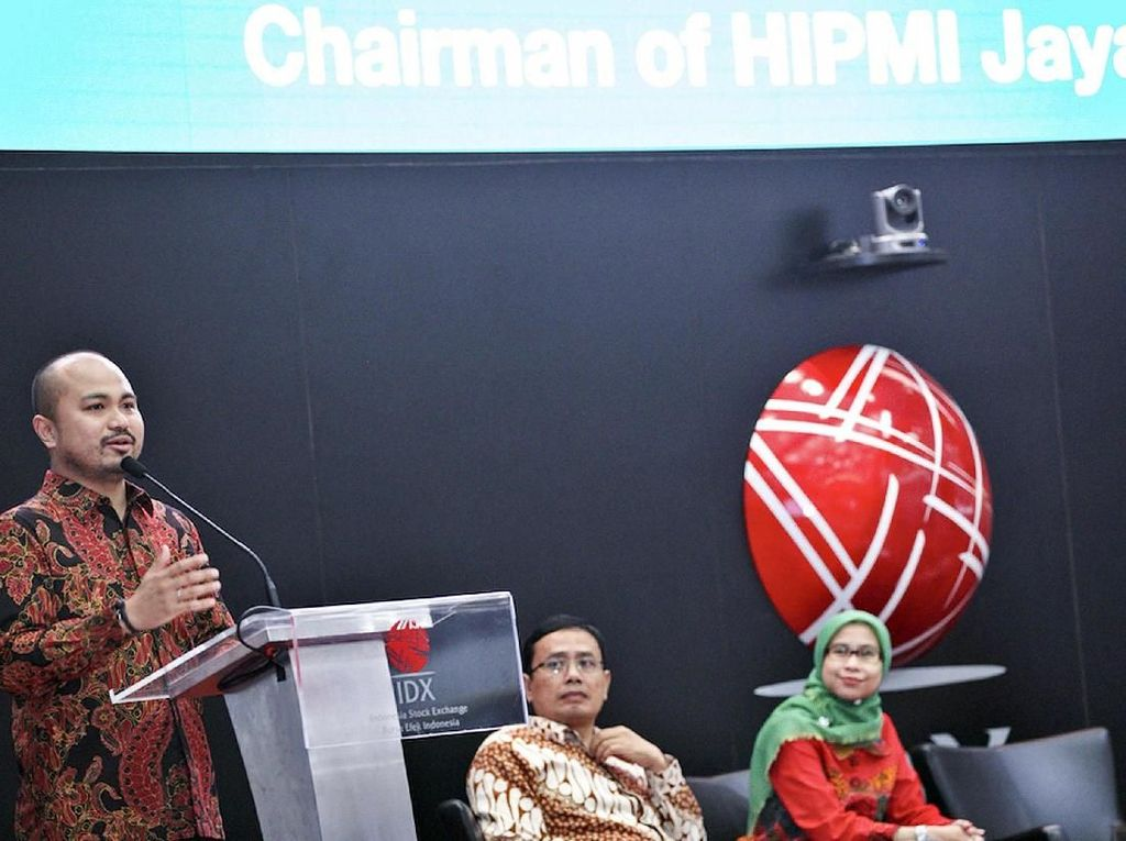 Workshop HIPMI Jaya di Bursa Efek Indonesia