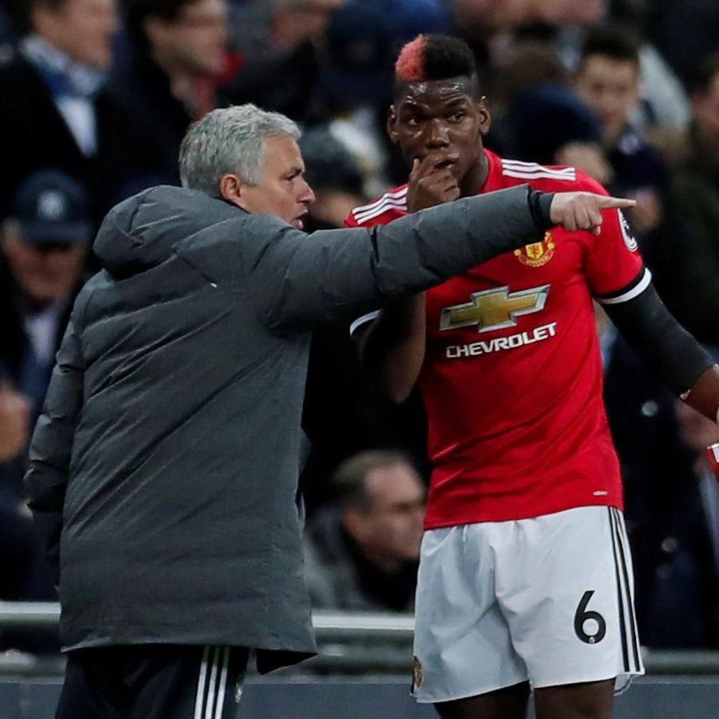Mourinho Tak Mau Bebani Pogba dengan Tanggung Jawab Besar