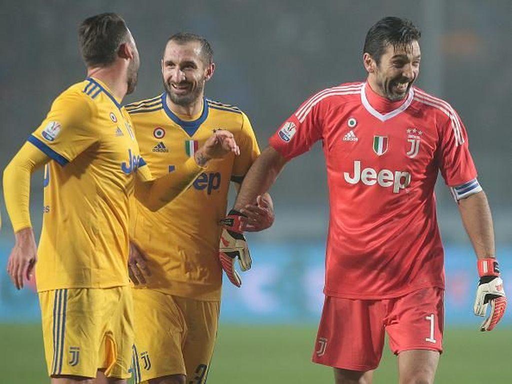 Lini Belakang yang Solid Kunci Laju Impresif Juventus