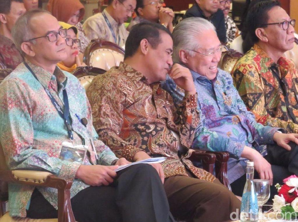 Mendag, Mentan Hingga Menpar kumpul Bareng di Hotel Borobudur