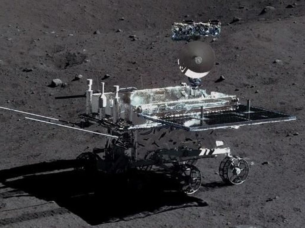 Potret Robot Mungil Asal China yang Menjelajahi Bulan