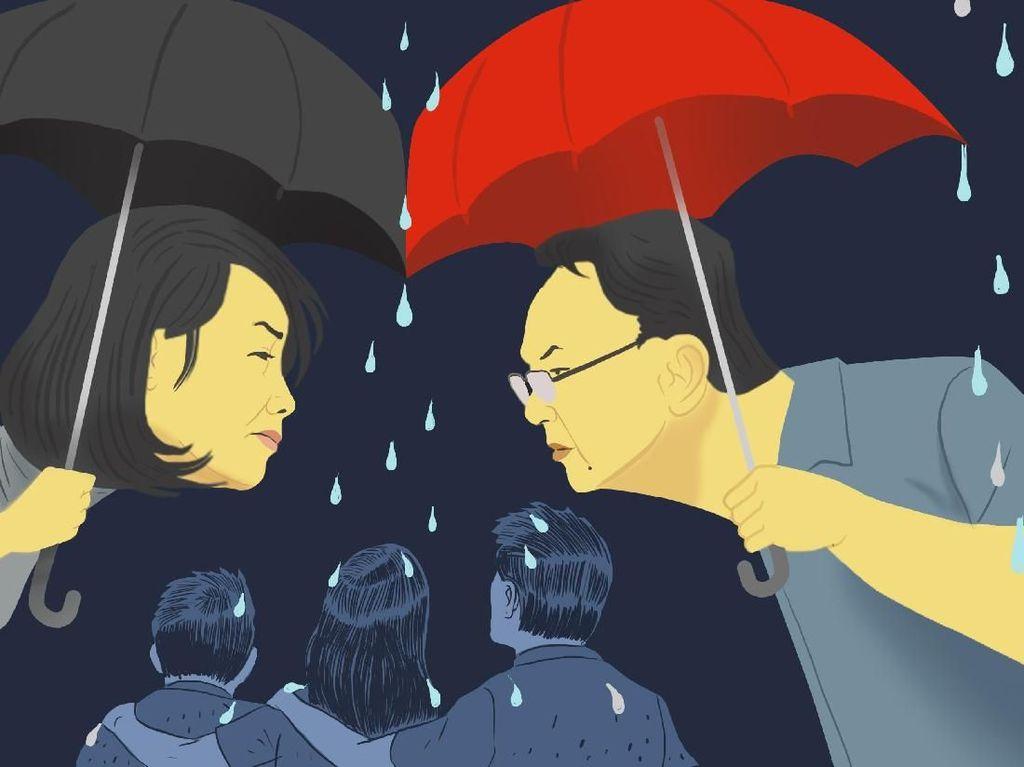 Akhir Cinta Ahok-Vero: Bertemu di Gereja, Berpisah di Pengadilan