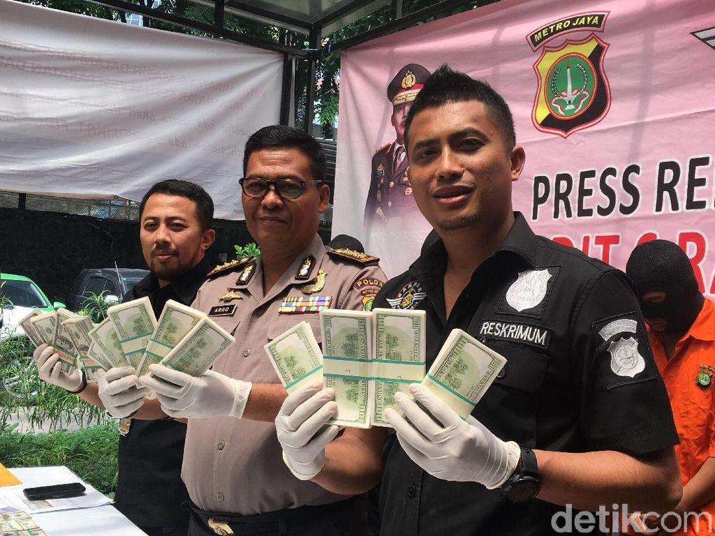 Polisi Tangkap Sindikat Pemalsu Dolar AS Senilai Rp 3,9 Miliar