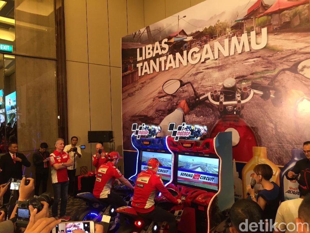 Dari Sepang, Lorenzo-Dovi Balapan di Jakarta