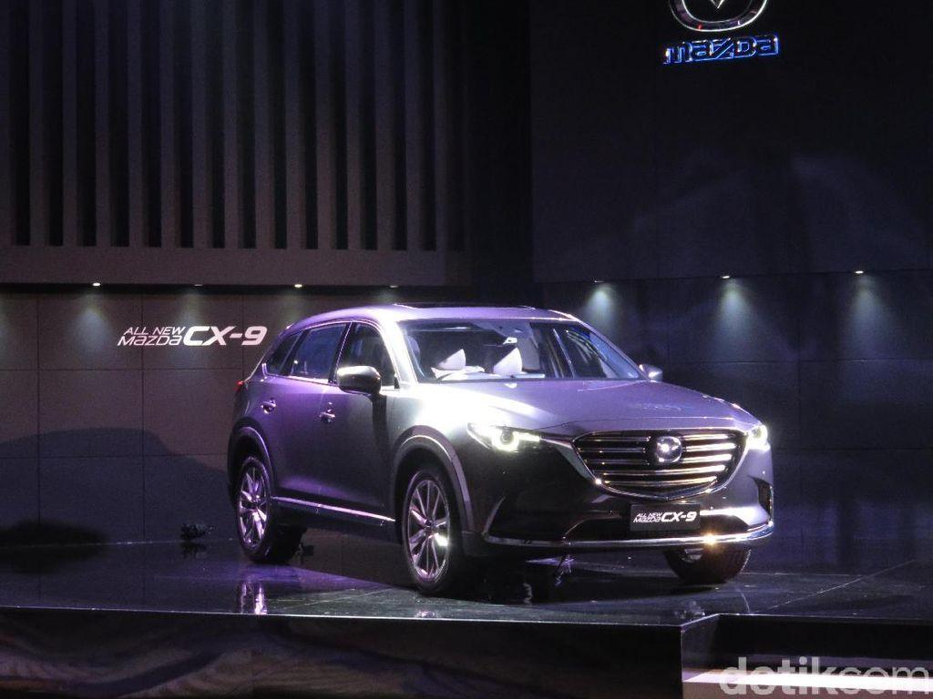 Mazda: CX-9 Lebih Keren dari Kompetitor