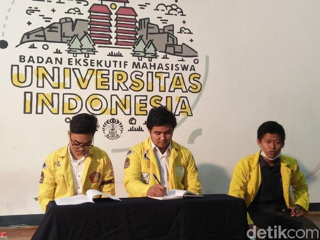 BEM UI Sebut Aksi Kartu Kuning ke Jokowi Belum Ada Izin Kampus