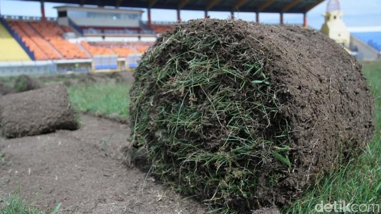 Rumput Stadion Si Jalak Harupat Akan seperti di Stadion Utama GBK
