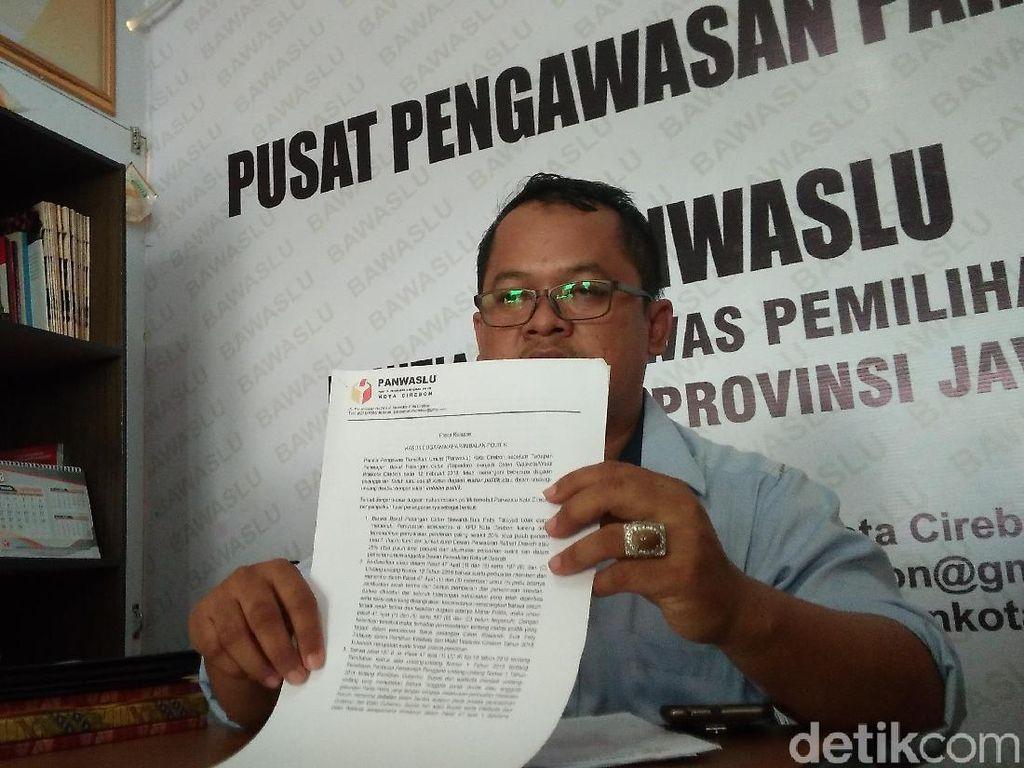 Panwaslu Hentikan Penanganan Dugaan Kasus Mahar Politik di Cirebon