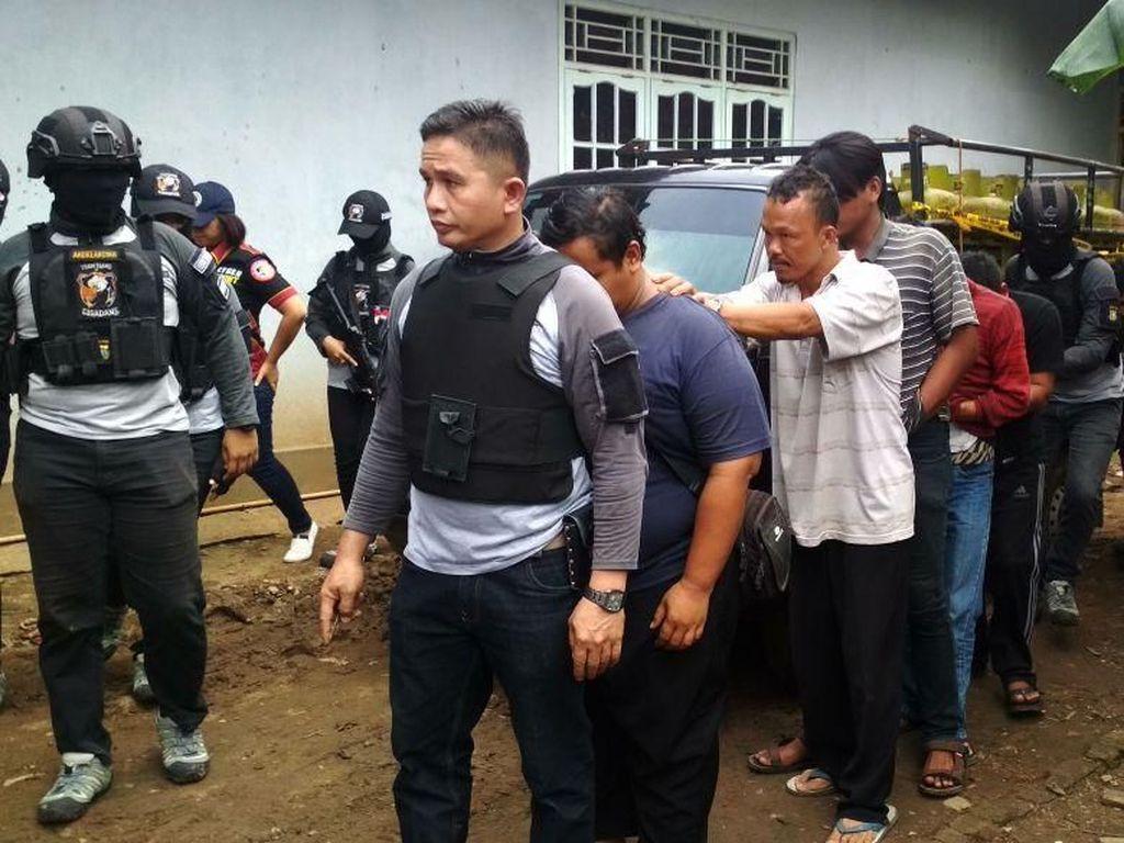 Tempat Pengoplosan Gas di Tangerang Digerebek, 5 Orang Ditangkap