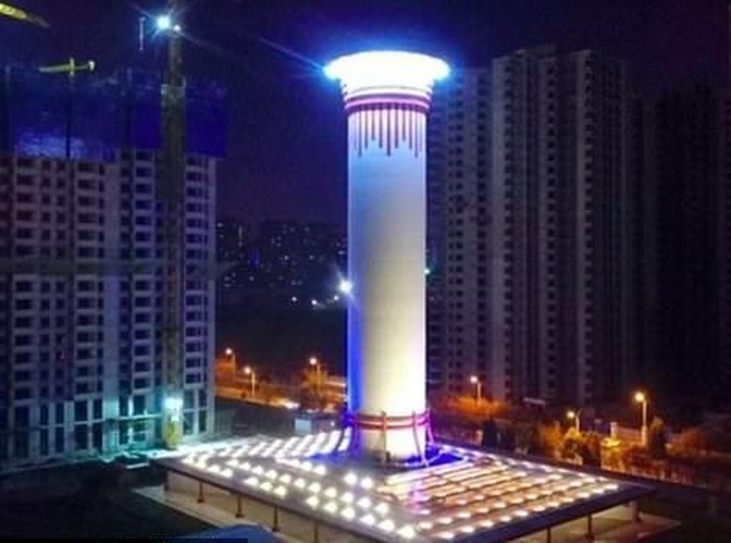 China Bakal Bikin Menara Pembersih Udara Terbesar di Dunia