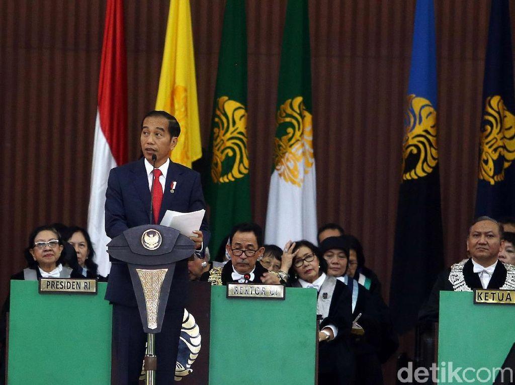 Jokowi Beberkan Tantangan Baru Ekonomi RI: Robot Gantikan Manusia