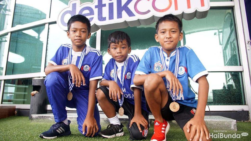 Impian Anak-anak Nelayan untuk Jadi Pemain Timnas Sepakbola