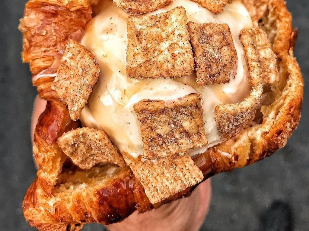 Unik! 10 Croissant Es Krim hingga Cookie Dough Kesukaan Netizen