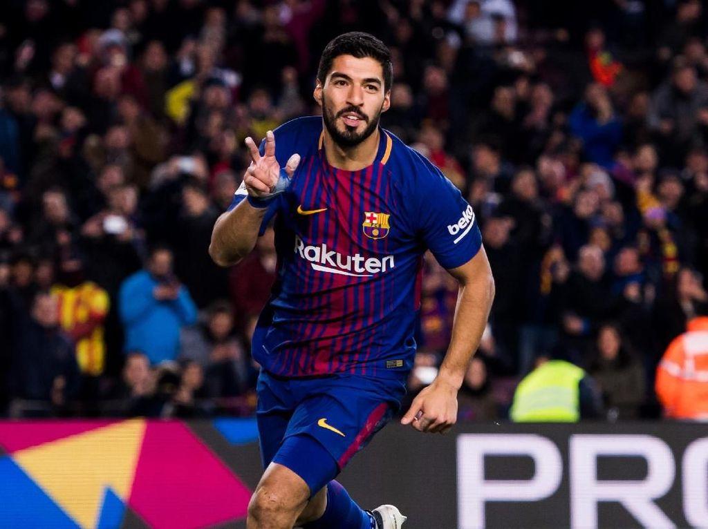Foto: Suarez Penentu Kemenangan Barcelona