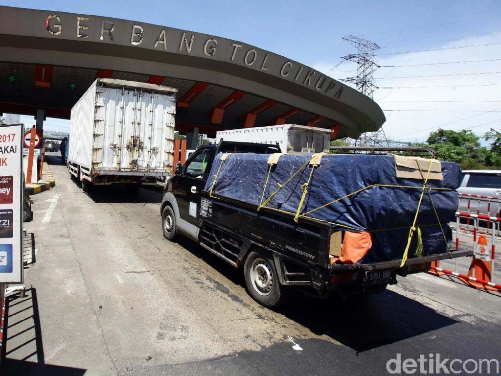 Titik Pengisian Uang Elektronik di Tol Tangerang saat Mudik