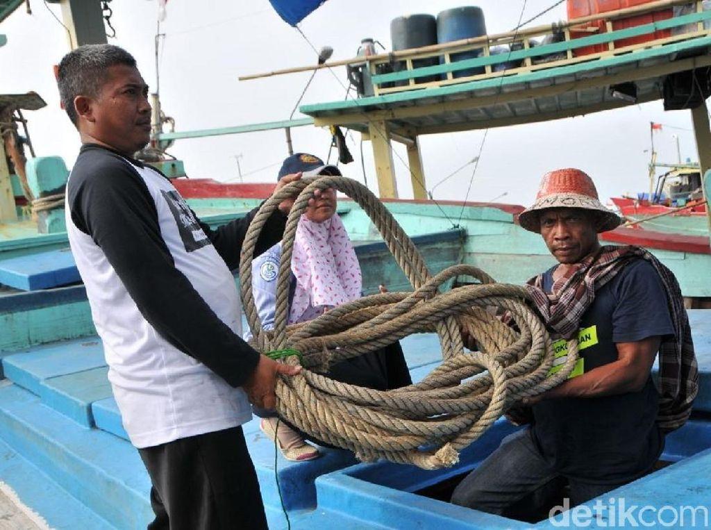 KKP Mulai Data Kapal Nelayan Cantrang di Tegal