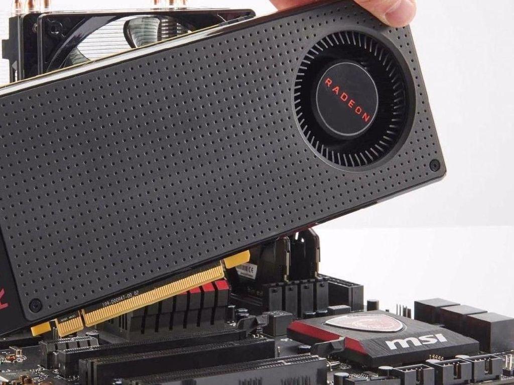 Gara-gara Bitcoin, AMD Geber Produksi GPU