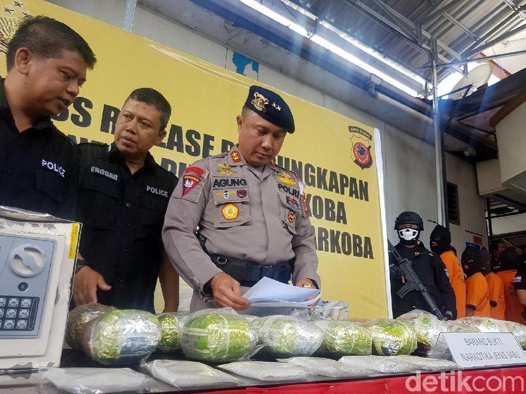 Sabu Rp 38 Miliar dari Thailand Dibongkar Polda Jabar